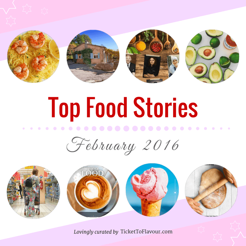 Top Food Stories of the Month - February 2016